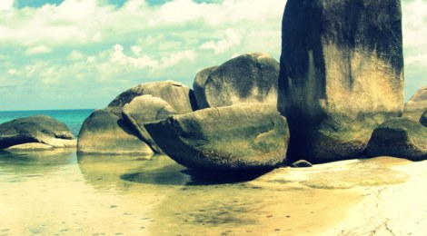 Pictures From Belitung Island, Sumatra