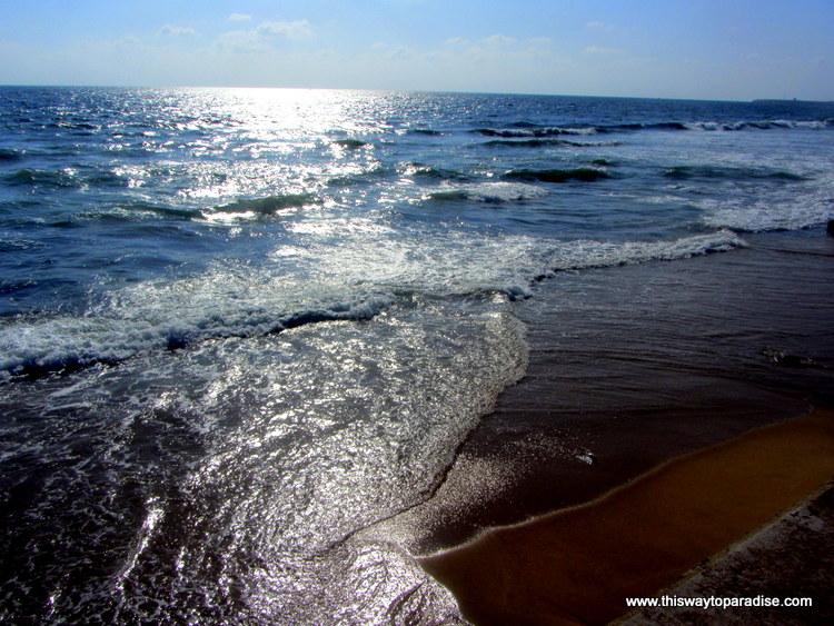 Sri Lanka Beach, Galle Face in Colombo