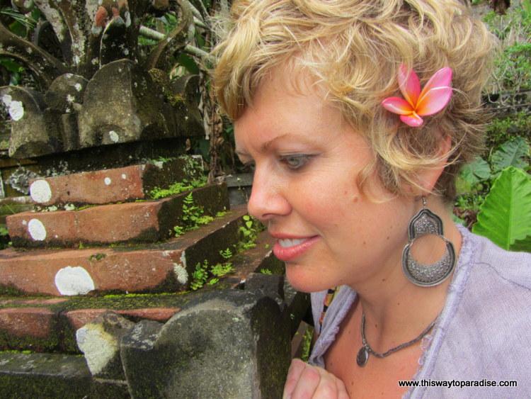 Val Dawson in Ubud