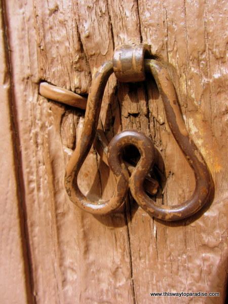 Door knocker in San Miguel de Allende