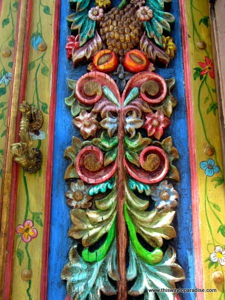 door in San Miguel de Allende