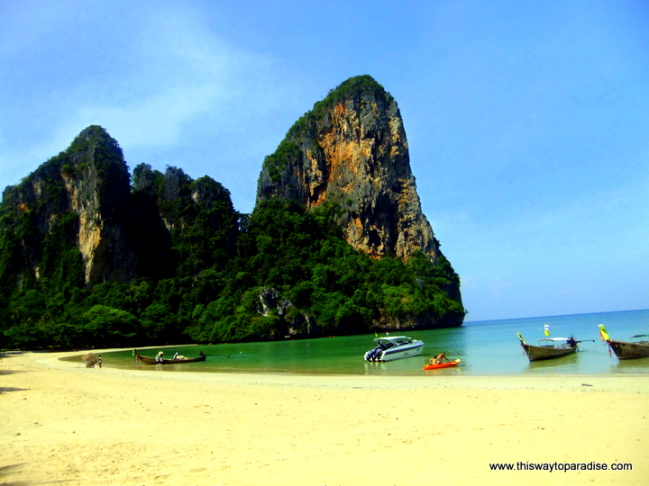 Railay Beach, Thailand Beaches, www.thiswaytoparadise.com visiting Thailand, best places to visit in Thailand