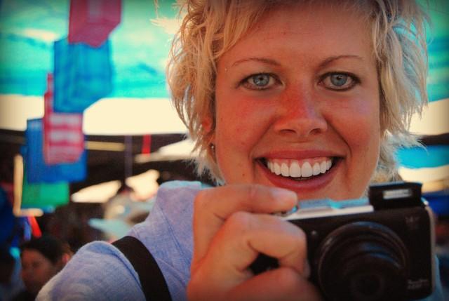 Valen Dawson author of travel food blog, Eating The Globe