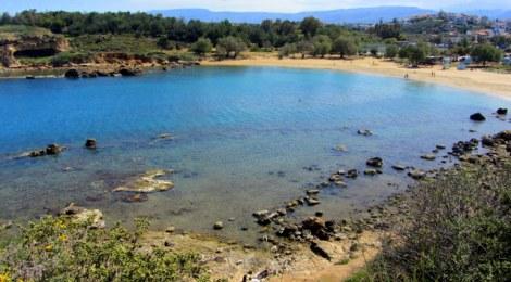 Beautiful Agii Apostoli beach