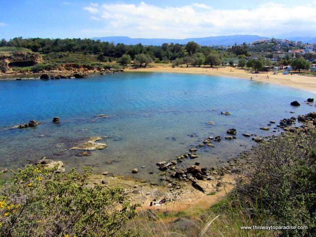 Agii Apostoli beach beaches in Crete