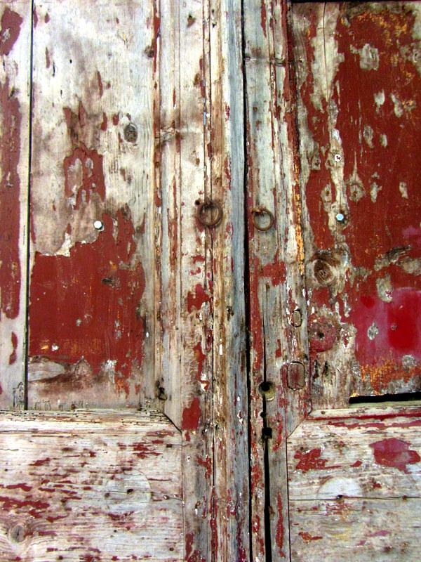 Red door in Chania