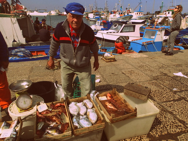 Trapani fish market