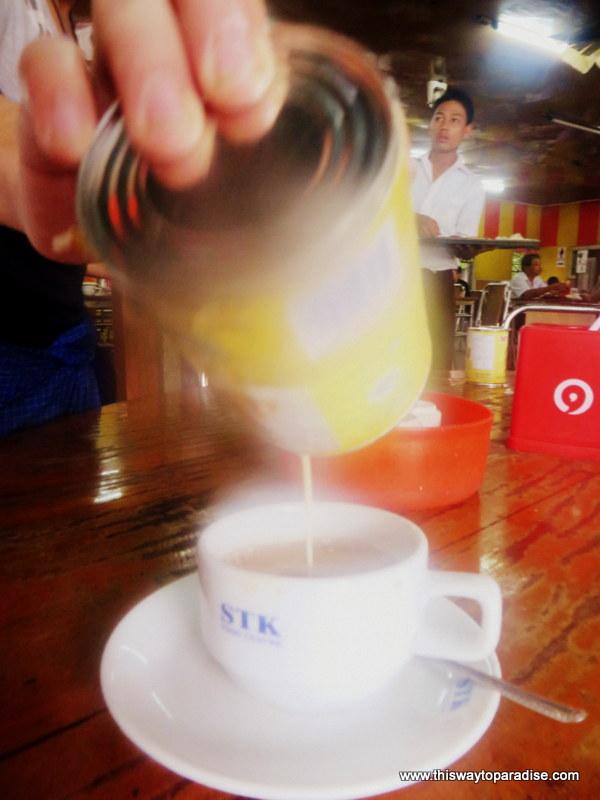 Myanmar tea shop