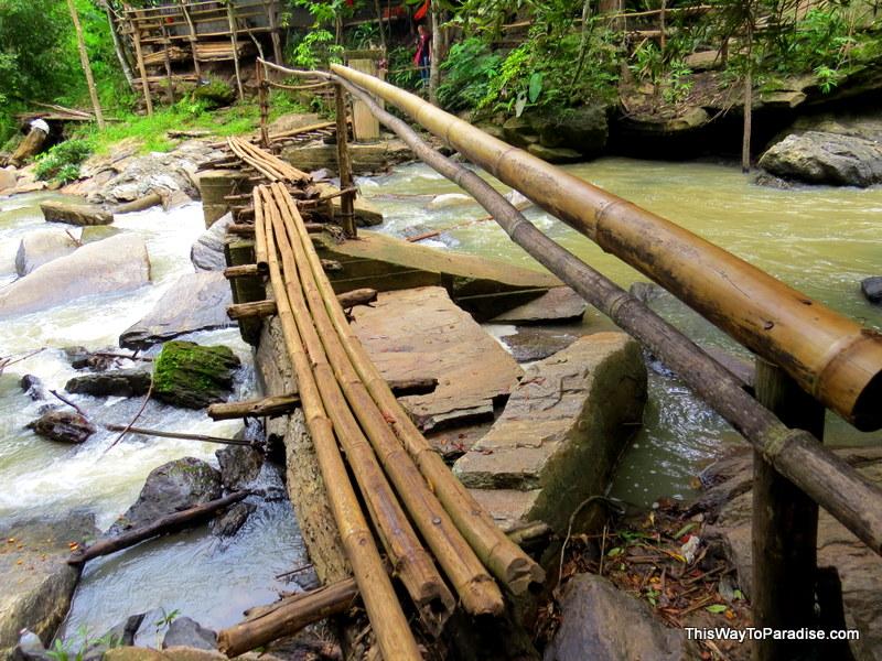 meet the locals Mae Wang waterfall
