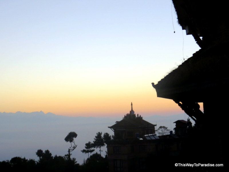 Nagarkot, Nepal sunrise
