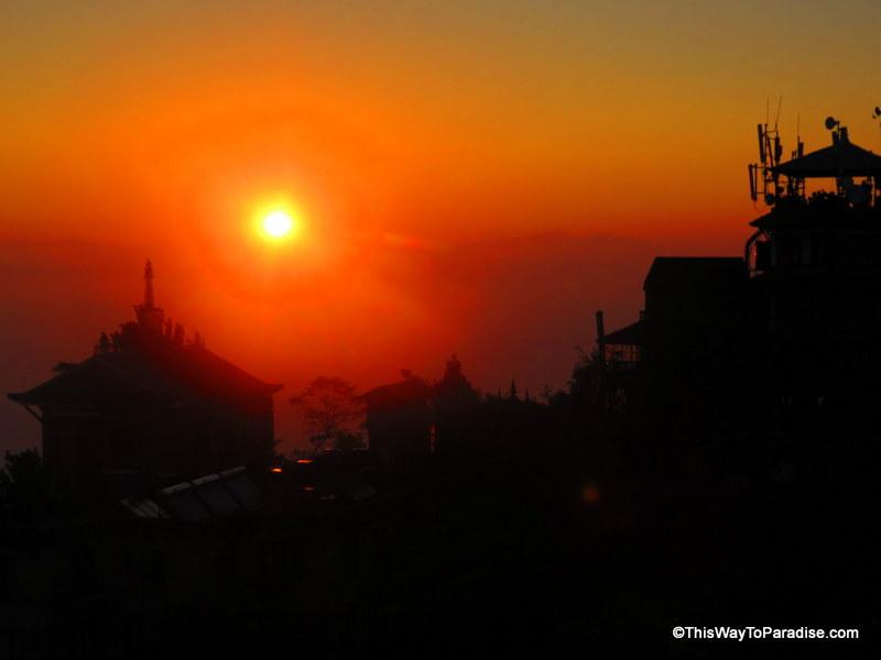 Nagarkot sunrise