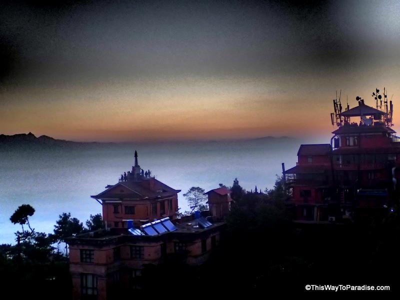 Nagorkot clouds sunrise