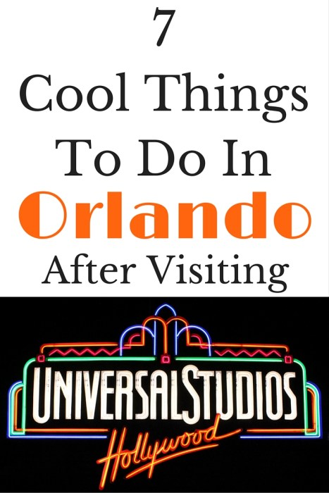 7 Cool Things To Do In Orlando After Visiting Universal Studios