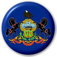 pennsylvania button PNG