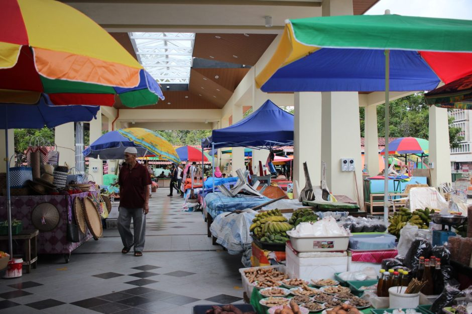 Tamu Kianggeh Market, Brunei
