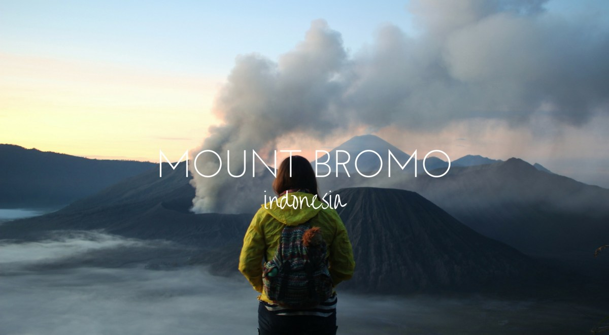 Mount Bromo - a Volcanic Sunrise