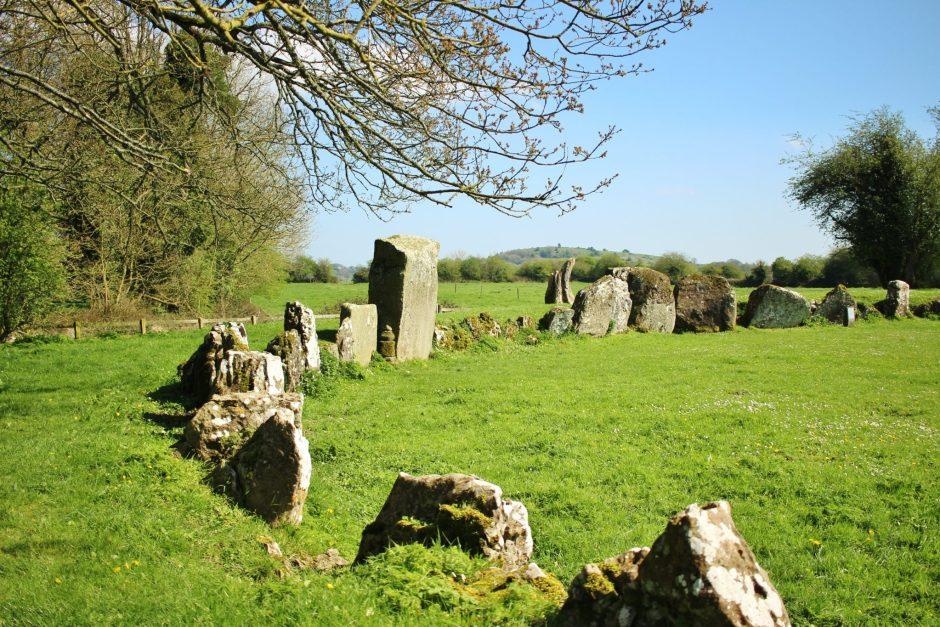 Grange stone circle, near Lough Gur, Ireland
