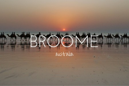 Three reasons not to miss Broome, and why you need to get your timing right.