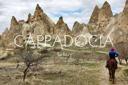 Trekking in the heart of Cappadocia, Turkey
