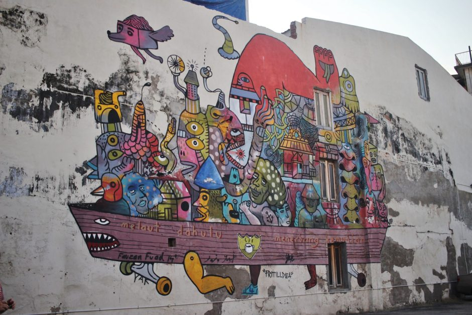 Street art in Penang, Malaysia