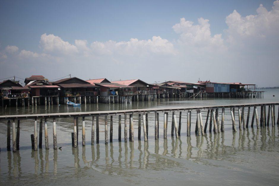 Clan Jetties in Penang, Malaysia