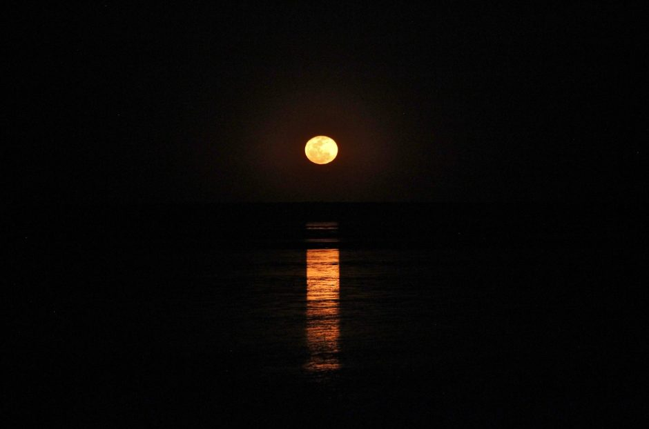 The Staircase to the Moon at Broome, Australia