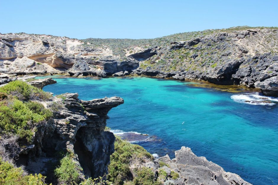 A cove in Rottnest Island