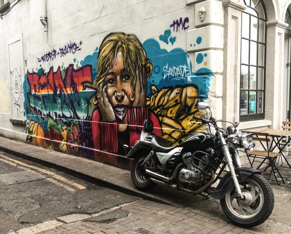 Street Art in Dublin, Ireland