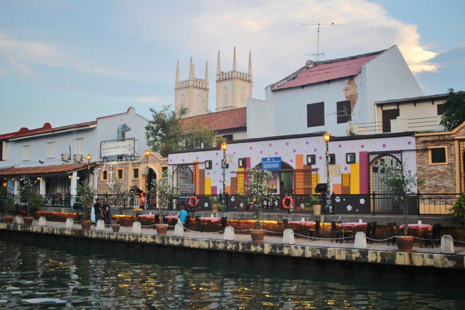 Street Art along the river in Melaka, Malaysia