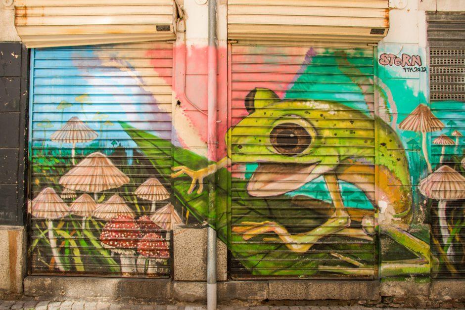 Street Art in Plovdiv, Bulgaria