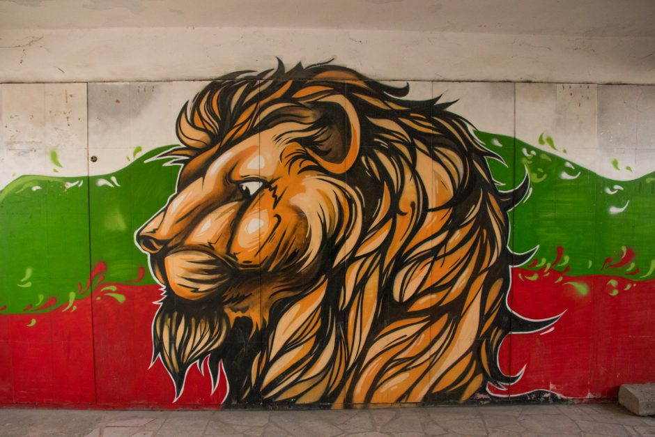 Street Art in Plolvdiv, Bulgaria