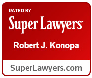 Robert J. Konopa, Super Lawyer for 10+ years