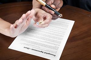 Prenup agreements, Tuesley Hall Konopa, LLP