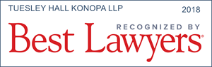 Tuesley Hall Konopa, LLP, named best law firm by Best Lawyers & U.S. News & World Reports