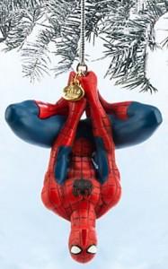 Marvel Spider Man Upside Down Christmas Ornament