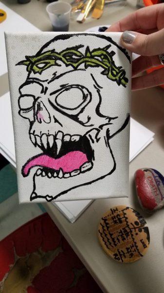 skeleton image or drawing