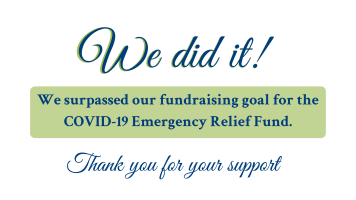 Facebook - We surpassed our fundraising goal!