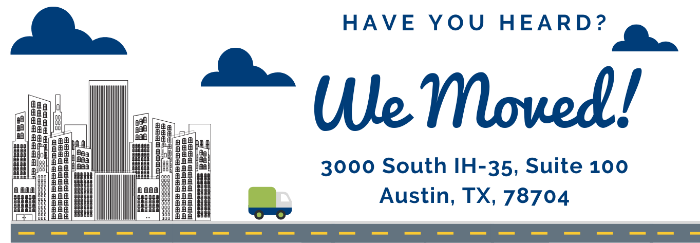 Have you heard? We've moved! Texas Homeless Network's new address: 3000, South IH-35, Suite 100, Austin, TX 78704