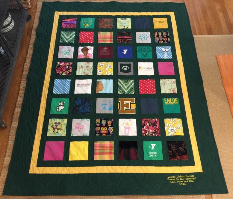 Classic Mini Square Memory Quilt
