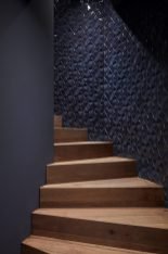 Die Treppe in der Bar Bonechina in Frankfurt