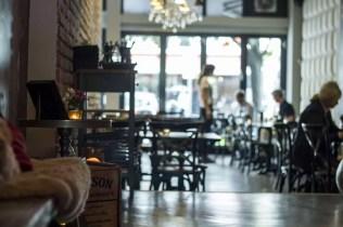 Einblick in die Bar Gin & Jagger in Essen