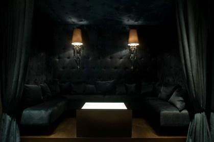 Das Interieur in der Gekko Bar Frankfurt