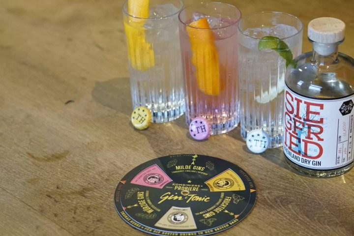 Gin & Tonic Wheel