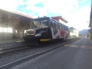 Touristenbahn in Alausi