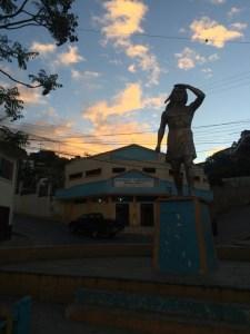 Statur in Catacocha