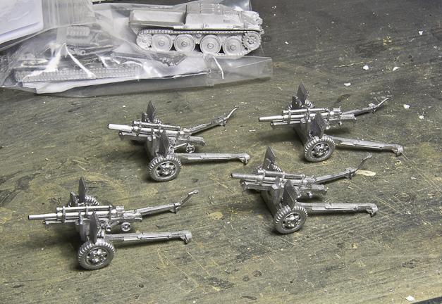 US Artillery guns