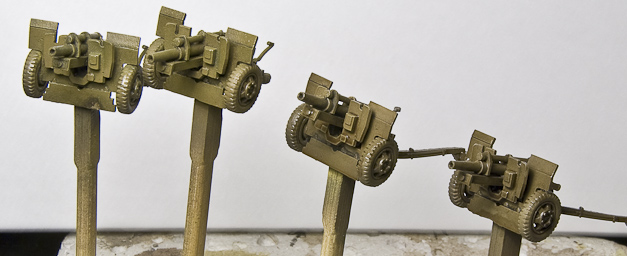 US 105mm guns