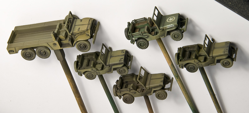 Airbrush Jeeps