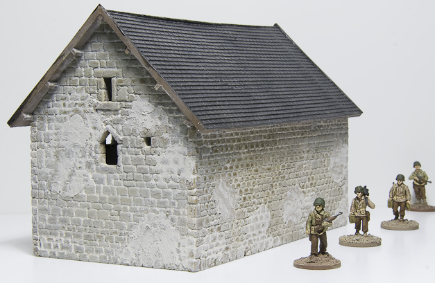 French barn building