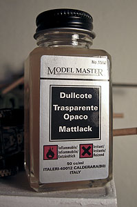 Dullcote from Model Master